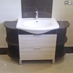 blackwhite elegancka nowoczesna łazienka na wymiar