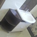 blackwhite nowoczesna umywalka zabudowana w szafkę
