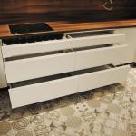 capri białe fronty szuflad w meblach allmeb opole