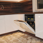 capri detale wykończenie mebli kuchennych z zabudowanym agd