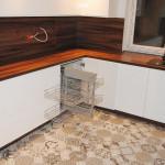 capri eleganckie meble kuchenne z wysuwanym koszem