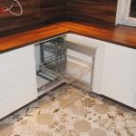 capri przykład rozwiązania narożnika w meblach do kuchni na wymiar
