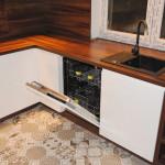 capri zabudowa kuchenna ze zmywarką białe fronty