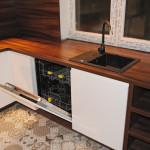 capri zlew ceramiczny wbudowany w meble kuchenne
