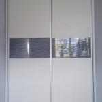 glasser ciekawa szafa z drzwiami ze szkłem ornamentowym