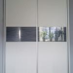 glasser szafa przesuwna szkło grawerowane w drzwiach