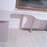 grays nierypowe biurko na zamówienie