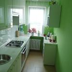 green meble małej kuchni w opolu
