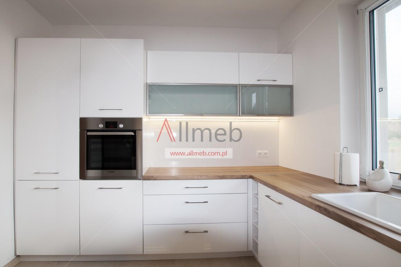 karina eleganckie nowoczesne białe lakierowane meble kuchenne -> Kuchnie Nowoczesne Lakierowane
