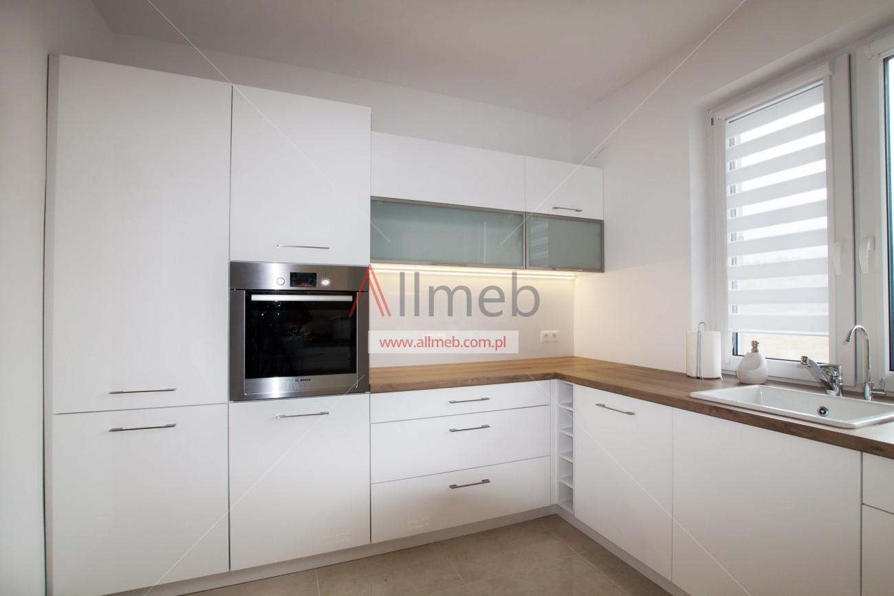 karina opole nowoczesna biała kuchnia szkło aluminium -> Kuchnia Biala Black Red White